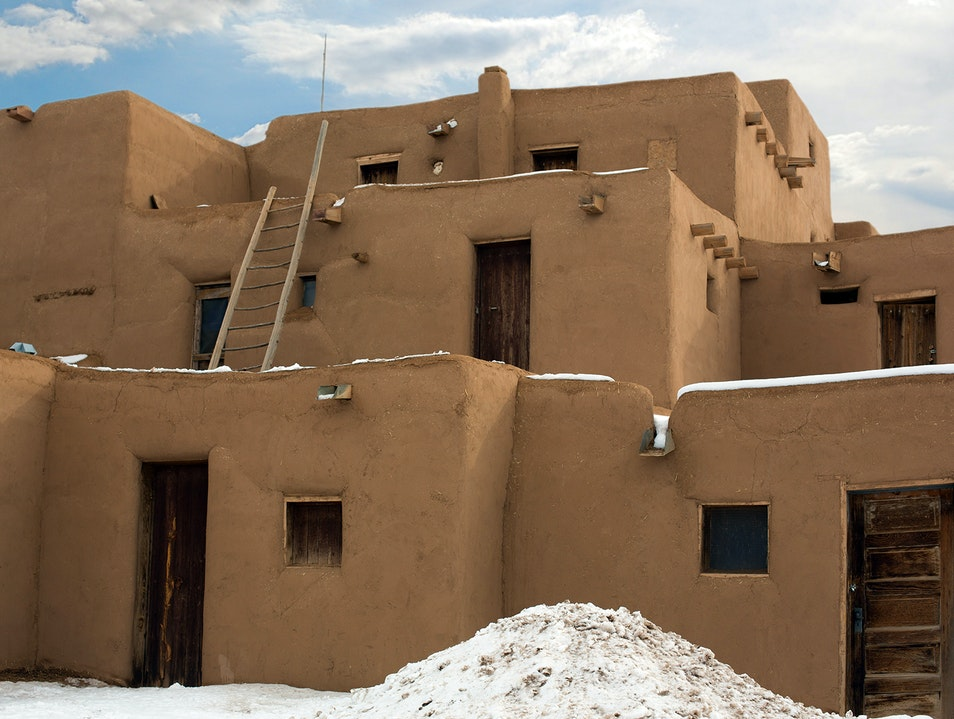 The Taos Pueblos Taos New Mexico United States