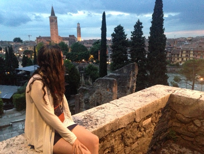 Views of Verona from a Hilltop Fortress