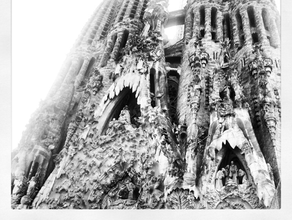 Gaudi heaven Barcelona  Spain