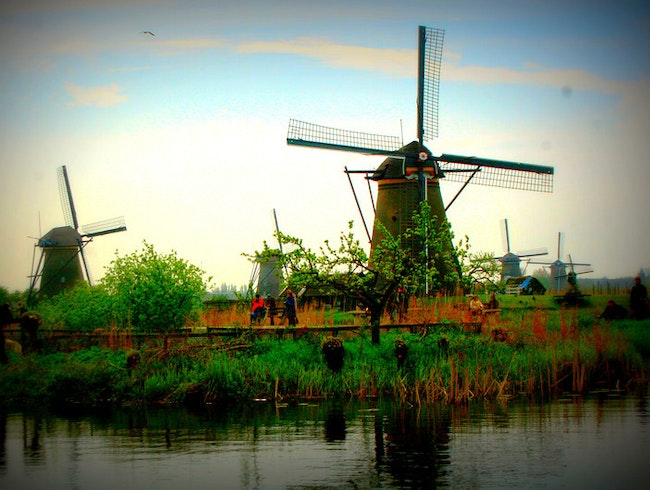 The Windmills of Kinderdijk, South Holland
