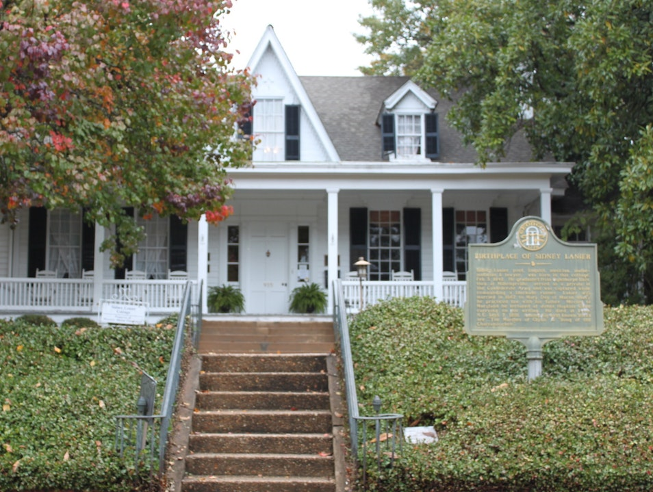 Birthplace of Georgia's Most Honored Poet Macon Georgia United States