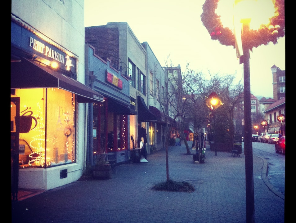 Church Street Wreaths Up for the Holidays Montclair New Jersey United States