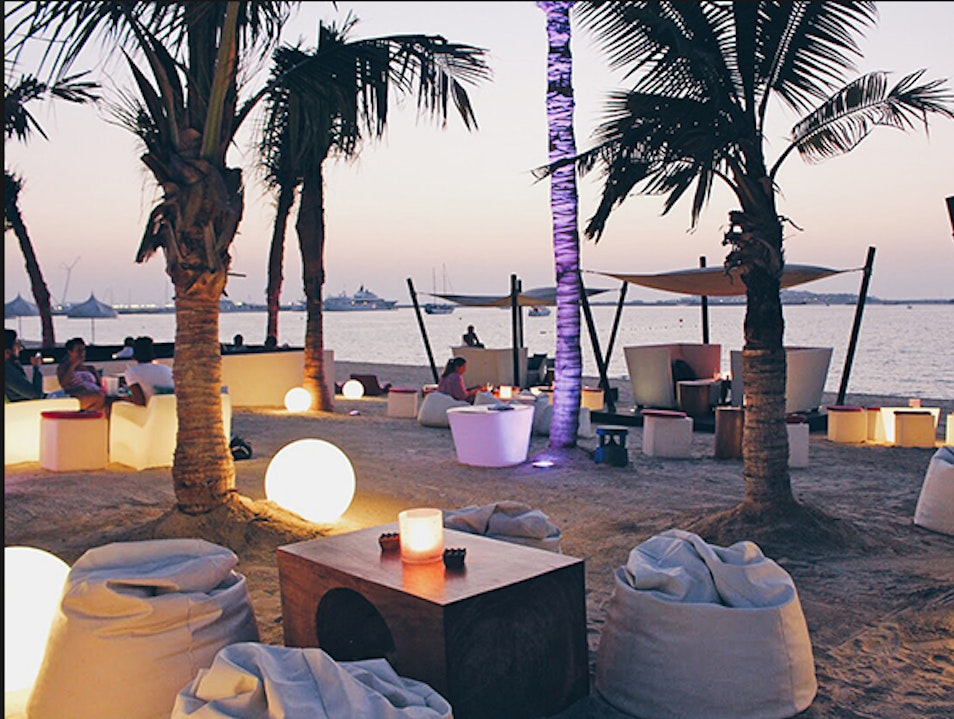 Not your standard beach bar: Jetty Lounge Dubai  United Arab Emirates