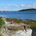 The Shore Path  Bar Harbor Maine United States