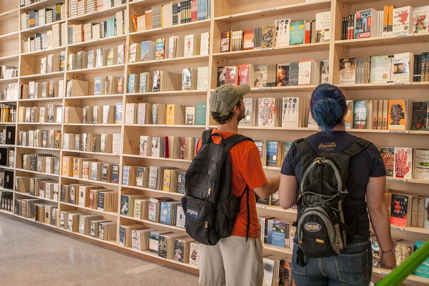 Powell's is the largest independent bookstore in the world.