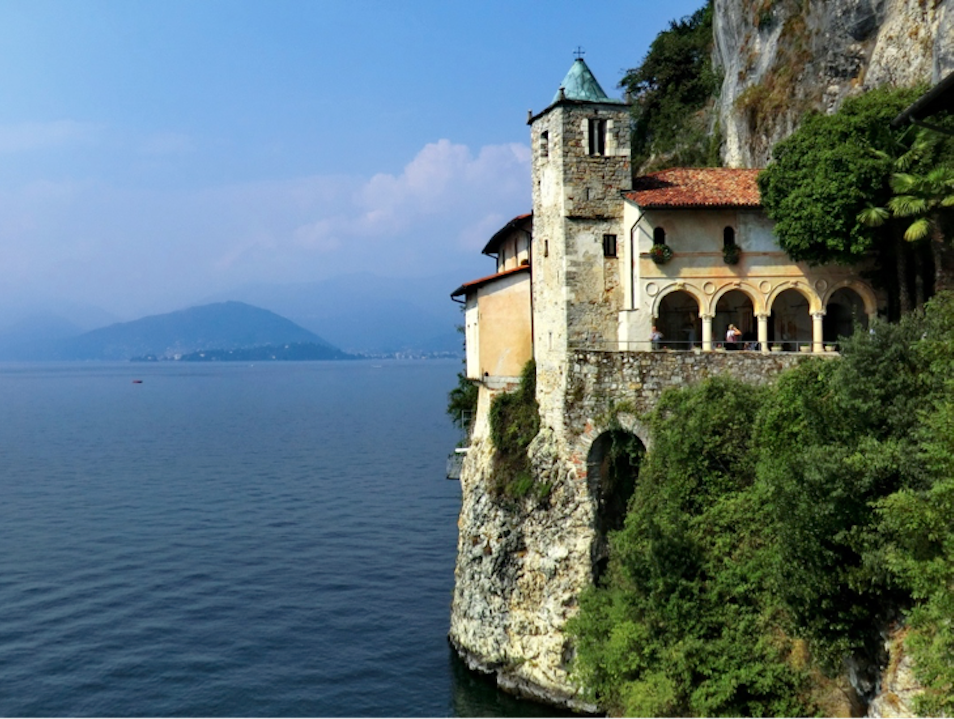 Visit the Cliff-Face Monastery of Lake Maggiore