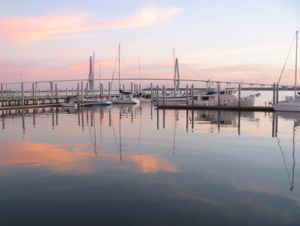 See Charleston from the water