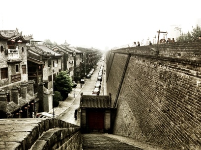Xi'an City Wall Xi'an  China