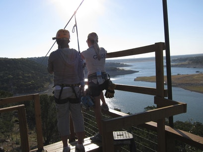 Lake Travis Zipline Adventures Volente Texas United States