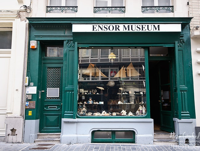 Visit the quirky home of a Flemish Artist at the James Ensor Museum