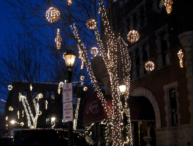 Get in the spirit with holiday lights