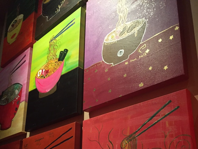 Check Out the Cute Ramen Bowl Paintings at Hapa