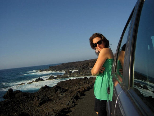 Watching the Sunrise on Lanzarote