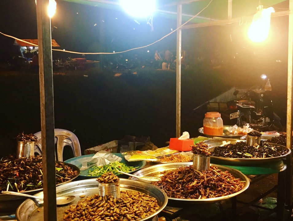Authentic Cambodian Street Food in Siem Reap