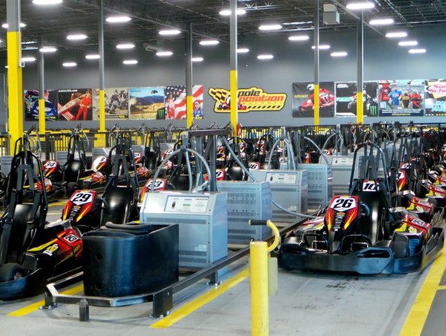 Head-to-Head Indoor Go-Kart Racing