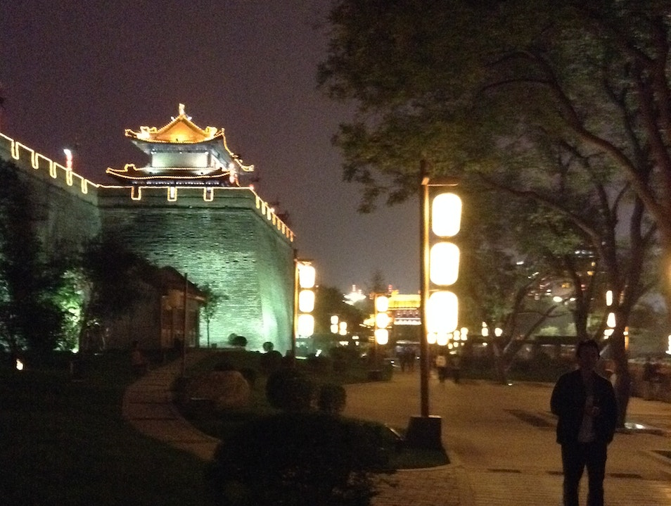 Walk Along the Moat Xi'an  China