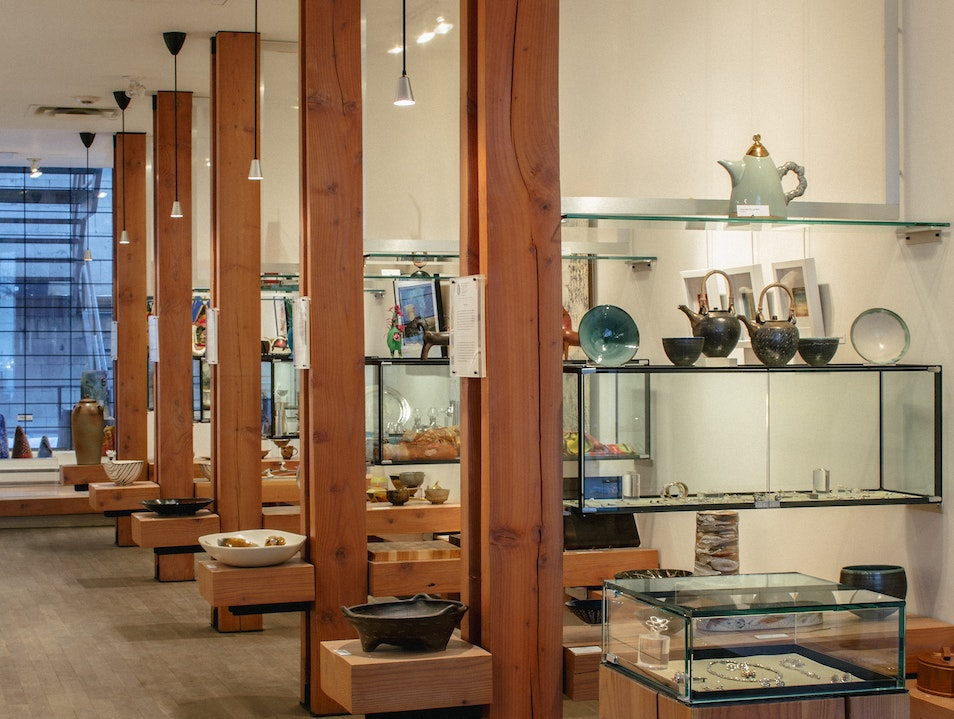 Authentic, Traditional Works at the Canadian Guild of Crafts Montreal  Canada