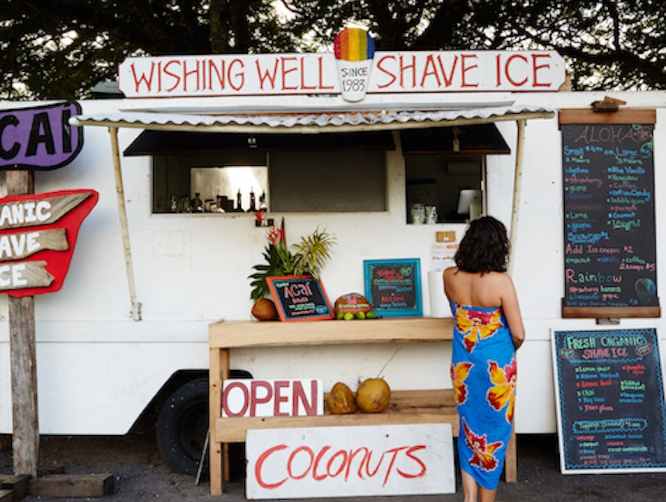 Wishing Well Shave Ice Hanalei Hawaii United States