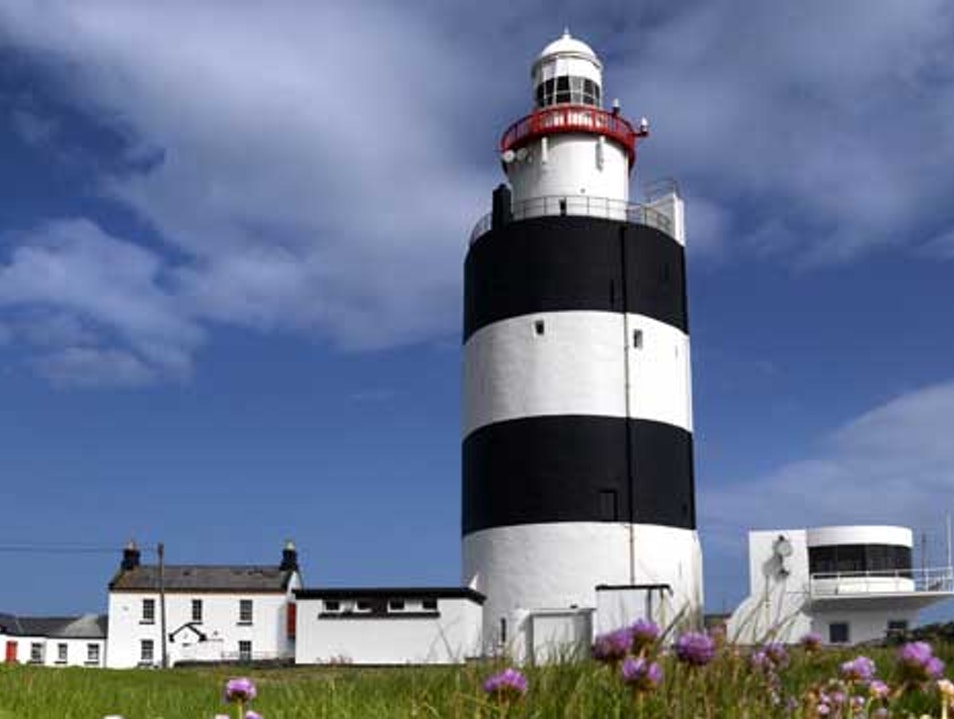 Stories of knights and lighthouse keepers at Hook Head