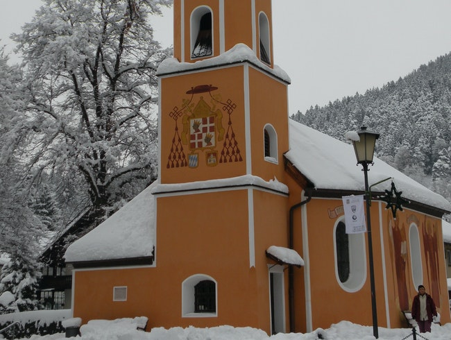 Sebastianskirche in the Snow