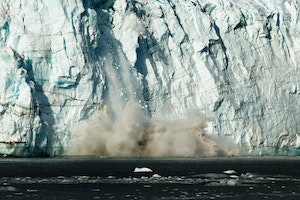 Calving Ice at Glacier Bay