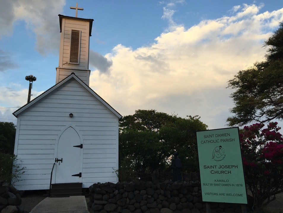 St. Joseph Catholic Church Kaunakakai Hawaii United States
