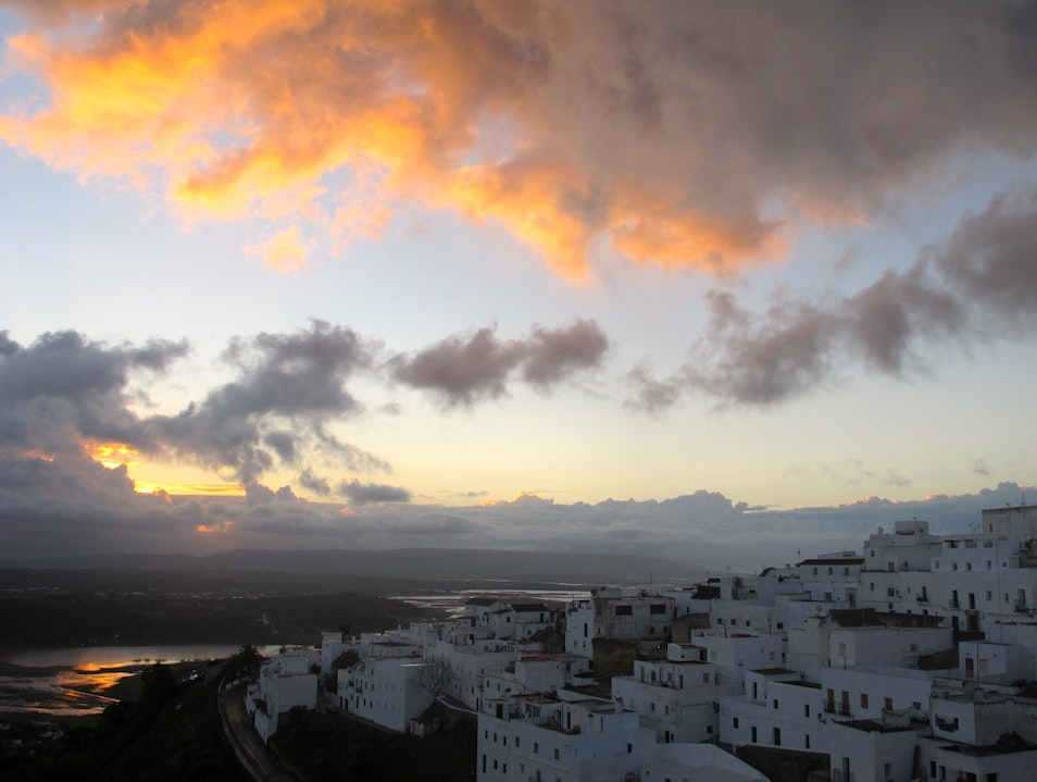Sunrise over Vejer de la Frontera