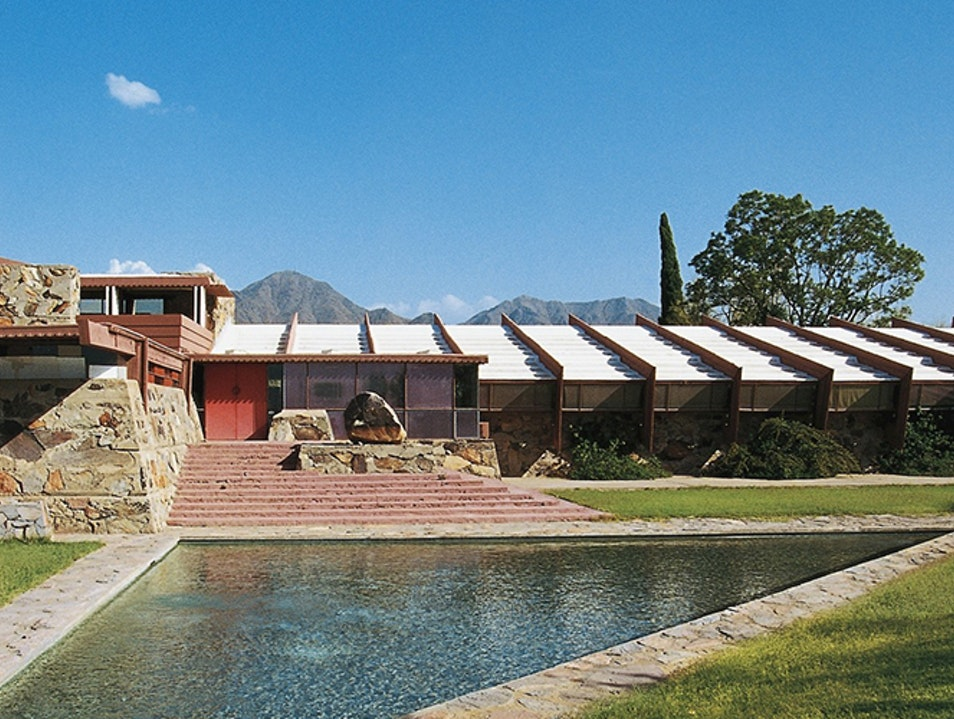 Frank Lloyd Wright's Arizona Home Scottsdale Arizona United States