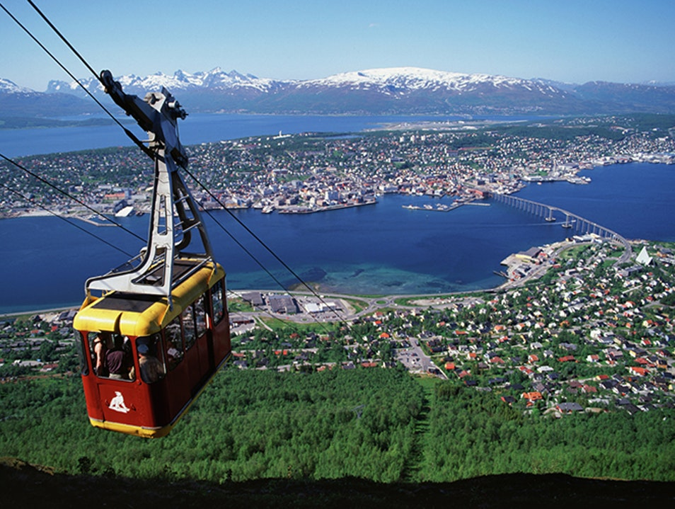 Tromsø Cable Car Tromsø  Norway