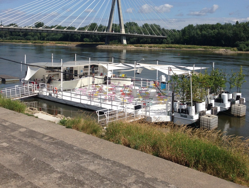 Drinks along the Vistula
