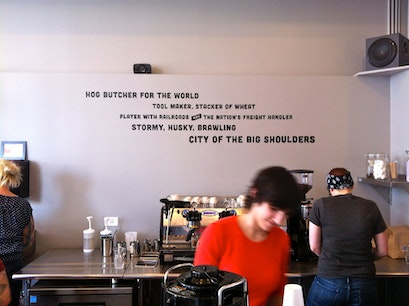 Big Shoulders Coffee Chicago Illinois United States