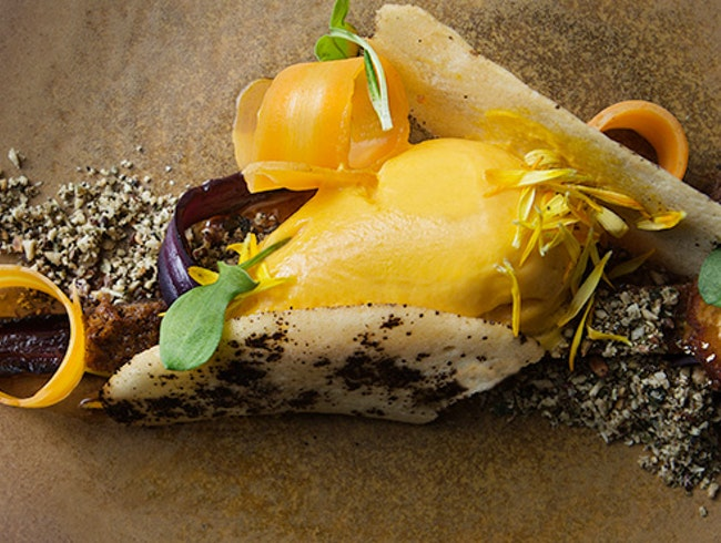 Artful Vegetables (and Some Meat) at Verbena