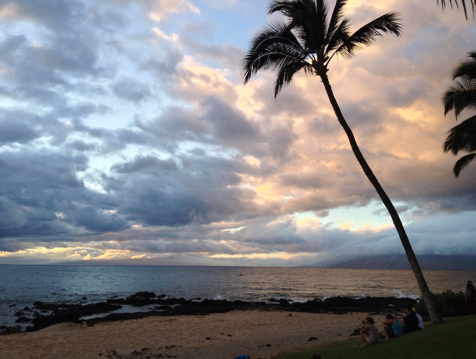 Sunset in Kihei Kihei Hawaii United States