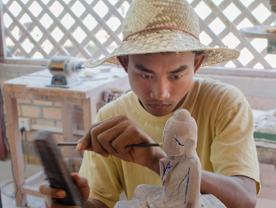 Take a Piece of Cambodia Home from Watthan Artisans