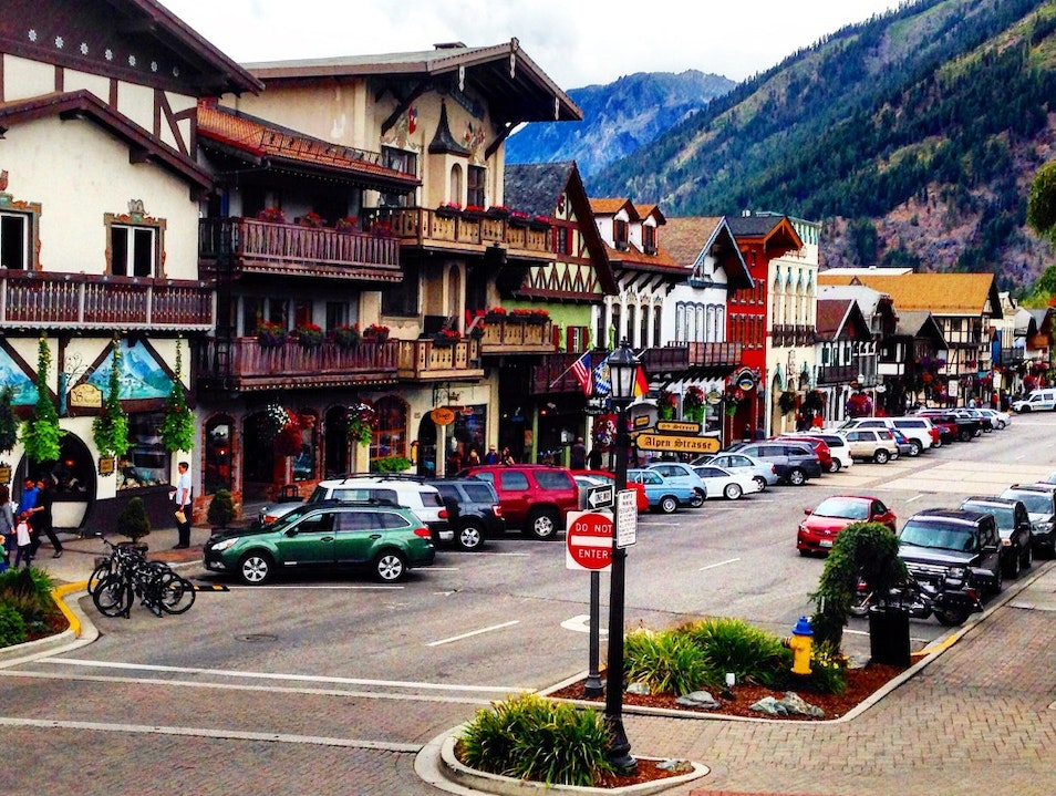 Leavenworth - a Bavarian-styled village Leavenworth Washington United States