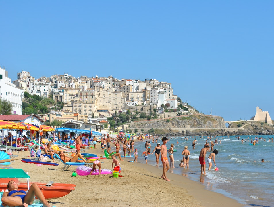 Charming beach town near Rome Sperlonga  Italy