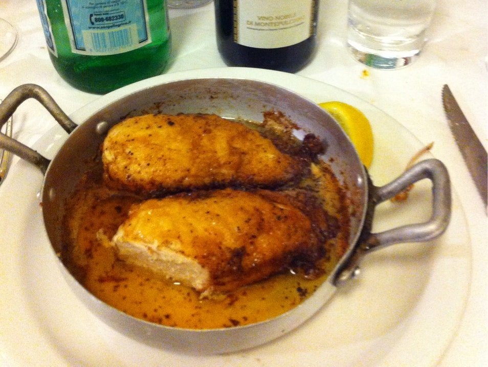 The Succulent Chicken in Clarified Butter Florence  Italy
