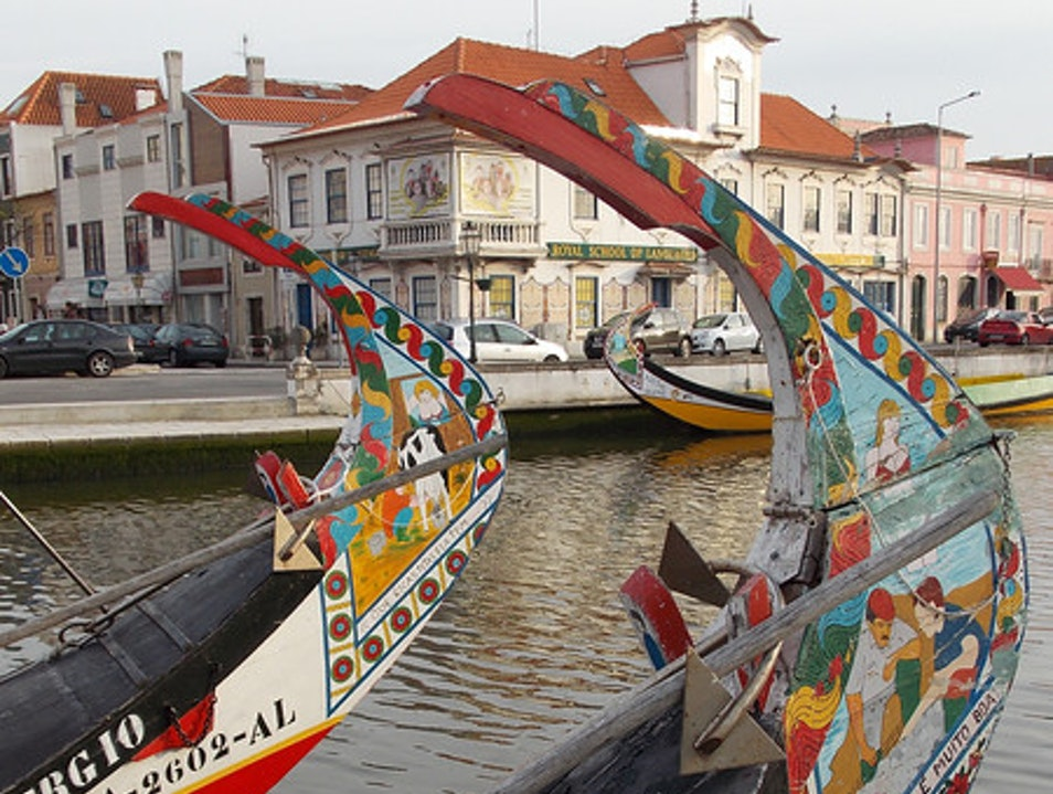 Boats of many colors