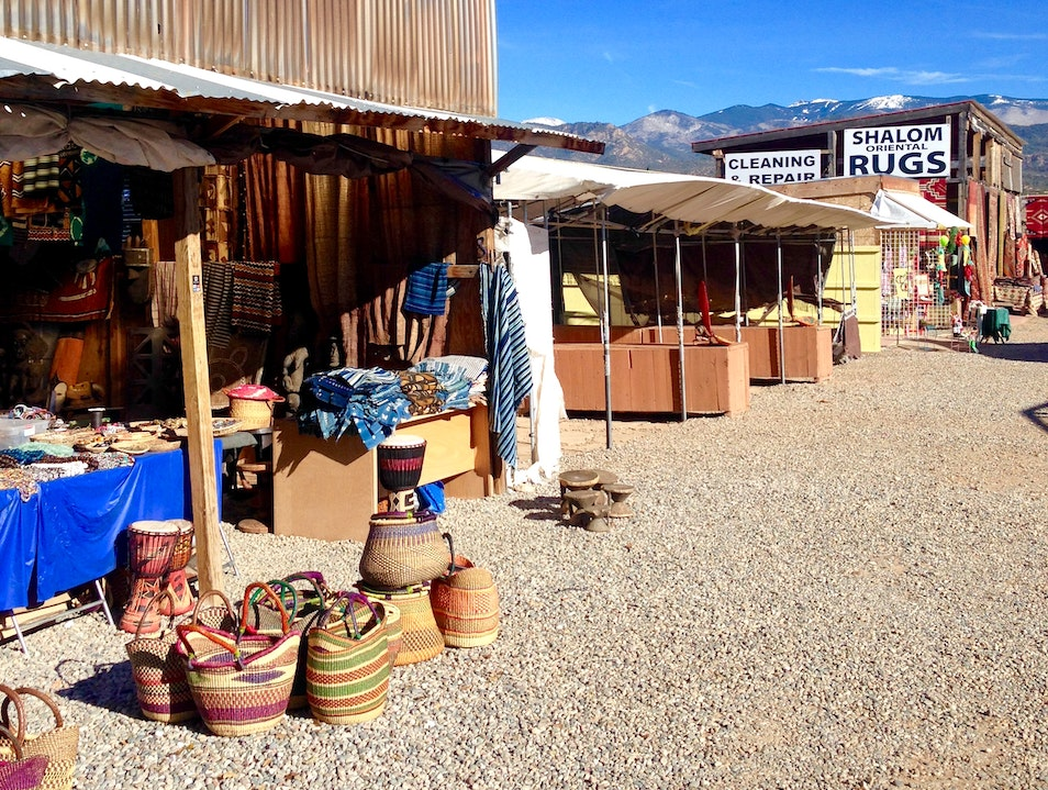 A Flea Market Fit for Georgia O'Keeffe Santa Fe New Mexico United States