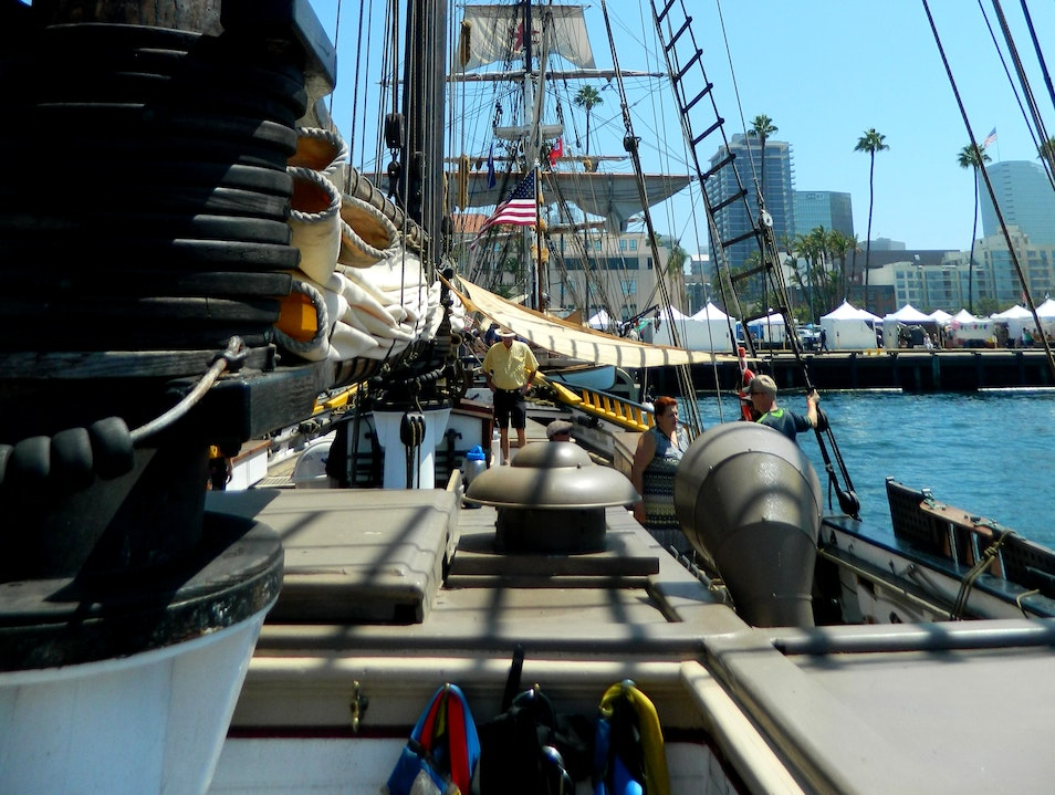 Ahoy Matey! Come Aboard San Diego's Festival of Sail San Diego California United States