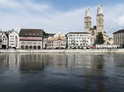 Grossmünster Zurich  Switzerland