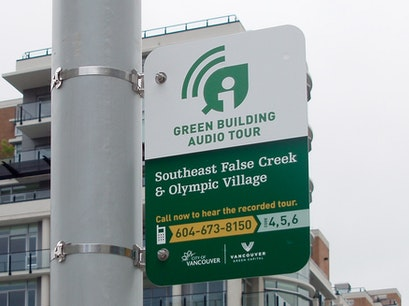 Green Buildings Audio Tour Vancouver  Canada