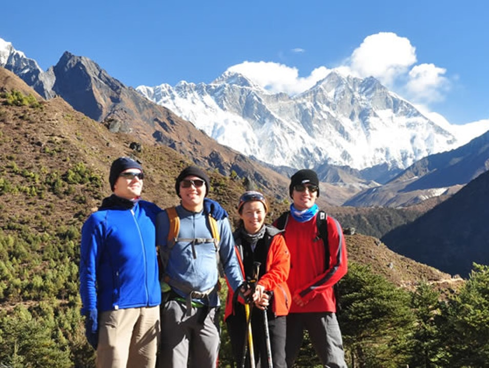 Everest Base Camp Trekking in Nepal Khumjung  Nepal