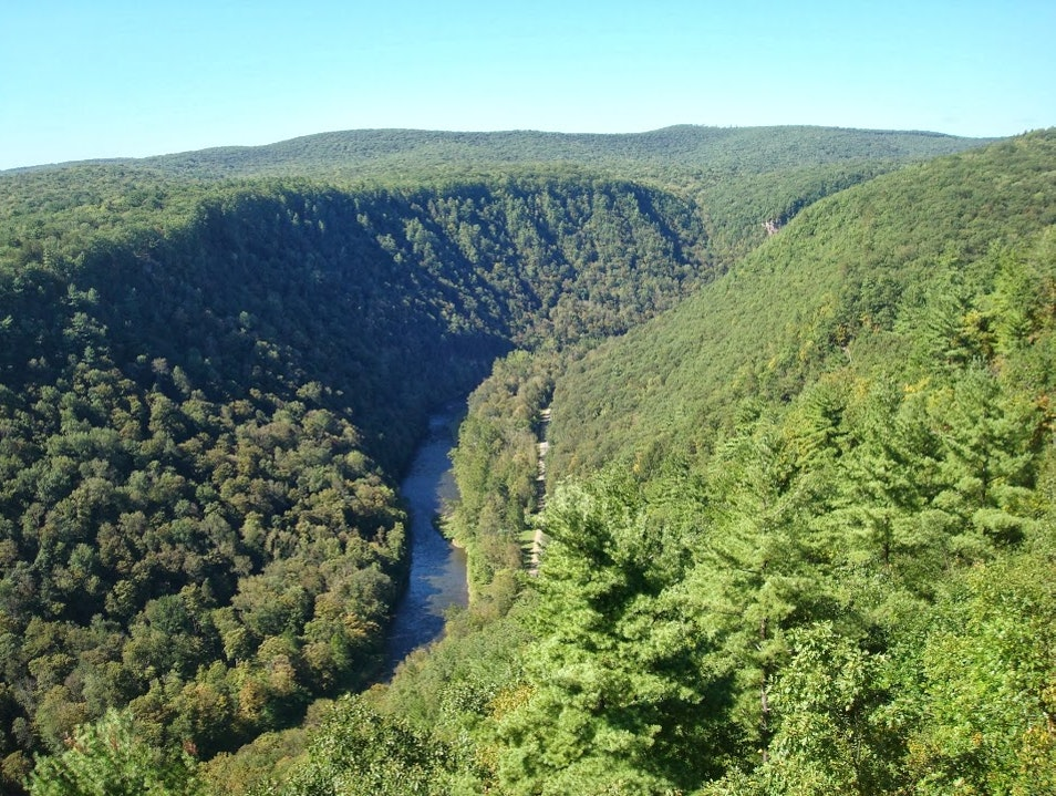 Finding Adventure in Pine Creek Gorge Jersey Shore Pennsylvania United States