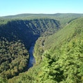 Pine Creek Gorge Jersey Shore Pennsylvania United States