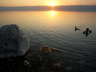 Dead Sea  Madaba  Jordan
