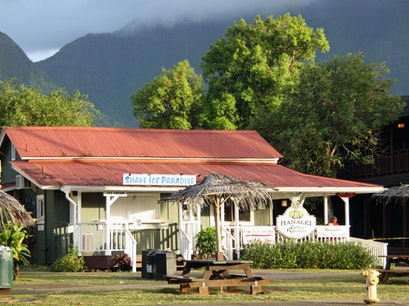 Shave Ice Paradise Hanalei Hawaii United States