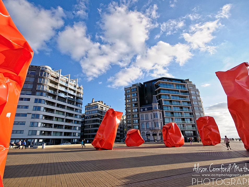 Enjoy Oostende's Public Art Ostend  Belgium