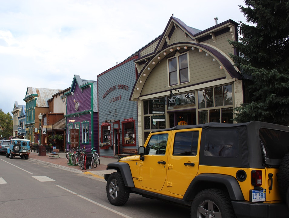 The Quaint, Old-World Charm of Crested Butte Crested Butte Colorado United States