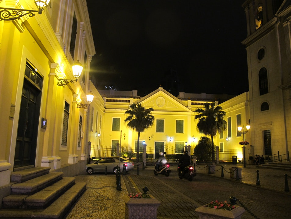 European style night walk Macau  Macau